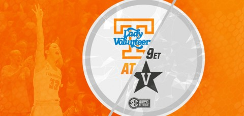 Tennessee Women's Basketball meet Vanderbilt Commordores for the 76th time Wednesday. (UT Athletics Department)