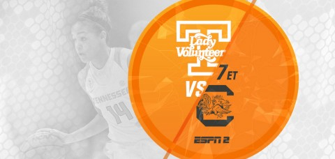 Tennessee Lady Vols hosts South Carolina Monday night. (UT Athletics Department)