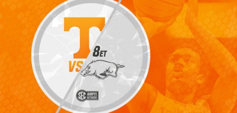 Tennessee Men's Basketball looks for first win in Fayetteville since 2009. (UT Athletics Department)