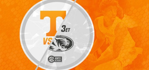 Tennessee Vols tangle with the Missouri Tigers at Mizzou Arena Saturday at 3:00pm ET/2:00pm CT on the SEC Network. (UT Athletics Department)