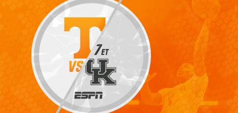 Tennessee Vols and the Kentucky Wildcats meet for Border Battle Round Two on Thursday at 7:00pm ET/6:00pm CT on ESPN. (UT Athletics Department)