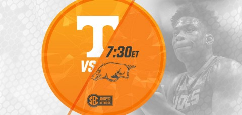 Tennessee Vols goes for home win number 12 when it takes on the Arkansas Razorbacks on Saturday at 7:30pm ET/6:30pm CT. (UT Athletics Department)