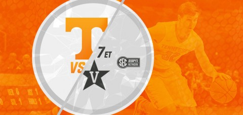 Tennessee Men's Basketball faces its in-state rival Vanderbilt on Tuesday at 7:00pm ET/6:00pm CT on the SEC Network. (UT Athletics Department)