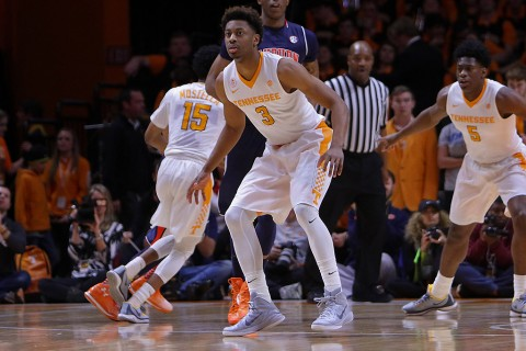 Tennesssee Vols' Junior Robbert Hubbs III scored a career-high 20 points in UT's 71-45 victory over Auburn. (Randy Sartin-USA TODAY Sports)