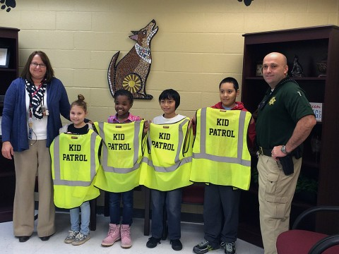 West Creek Elementary School Kid Patrol Graduates