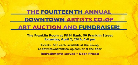 14th Annual Downtown Artists Co-op Art Auction and Fundraiser