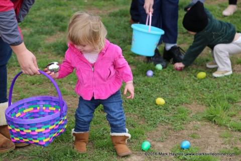Cunningham Volunteer Fire Department's Annual Easter Egg Hunt.
