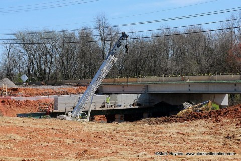 The TDOT Rossivew Road/SR 237 widening and I-24 interchange modification project at Exit 8 is nearing completion.