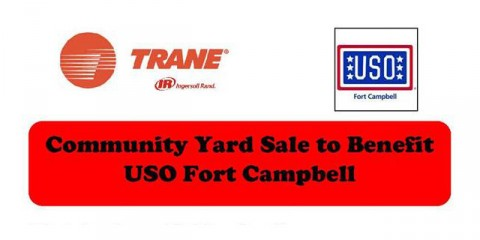 Trane to hold Community Yard Sale to Benefit USO Fort Campbell, April 9th