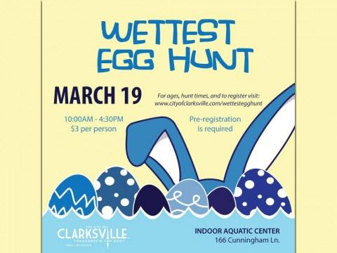 2016 Wettest Egg Hunts