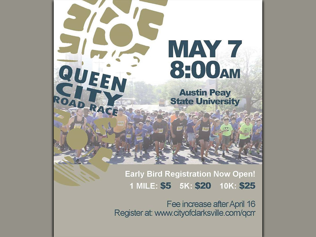 T shirt design on queen city - 38th Annual Queen City Road Race
