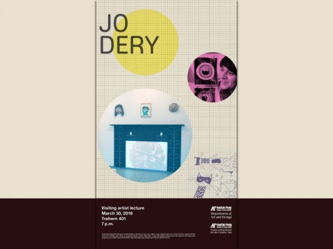 Jo Dery to give lecure at APSU Visiting Artist Speaker Series March 30th