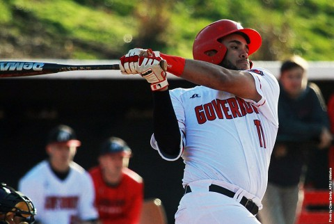 Austin Peay Men's Baseball takes on the Arkansas State Red Wolves in a two game series, Tuesday and Wednesday. (APSU Sports Information)
