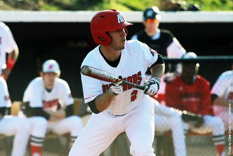 Austin Peay Baseball's start time against Eastern Illinois Friday moved up to 4:00pm due to forecasted weather. (APSU Sports Information)