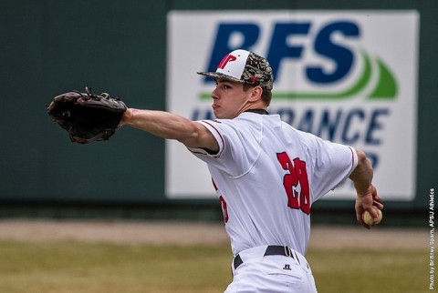 Austin Peay Governors Baseball loses OVC Contest Saturday to Jacksonville State, 8-5. (APSU Sports Information)