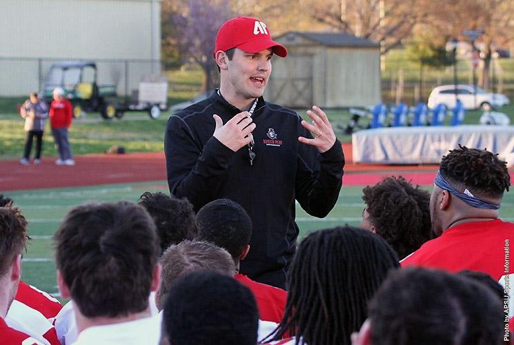 Austin Peay head football coach Will Healy. (APSU Sports Information)