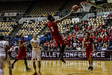 Austin Peay Men's Basketball looks for second OVC Tournament win when they play Tennessee State tonight. (APSU Sports Information)
