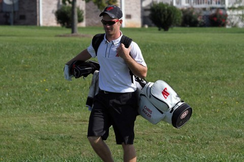 Austin Peay's Chris Baker leads Govs at Pinehurst after Day One. (APSU Sports Information)