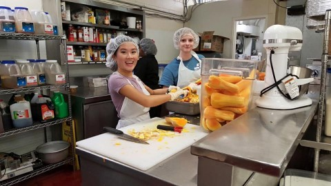Austin Peay Students spent a week volunteering during the Spring Break Holiday.
