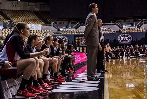 Austin Peay Women's Basketball sees season end with 82-68 loss to Eastern Kentucky in the first round of the OVC Tournament. (APSU Sports Information)