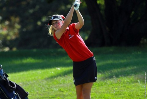 Austin Peay Lady Gov Jessica Cathey shoots a 71 to lead all golfers Thursday in dual match win over Belmont. (APSU Sports Information)