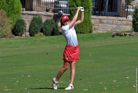 Austin Peay Women's Golf's Jessica Cathey tied for third at Bobby Nichols Intercollegiate. (APSU Sports Information)