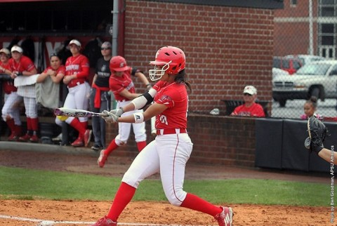 Austin Peay Softball falls to Middle Tennessee 6-0. (APSU Sports Information)