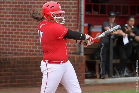 APSU Lady Govs Softball. (APSU Sports Information)