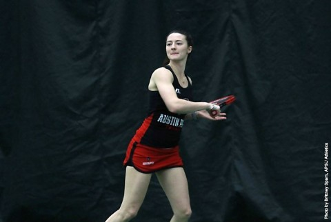 Austin Peay Women's Tennis plays Western Kentucky today. (APSU Sports Information)