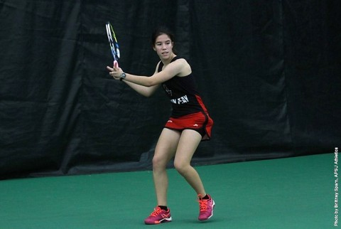 Austin Peay Lady Govs Tennis finishes homestand taking on Wright State Raiders Saturday morning. (APSU Sports Information)