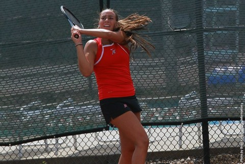 Austin Peay Women's Tennis beats Morehead State Saturday for first OVC win. (APSU Sports Information)