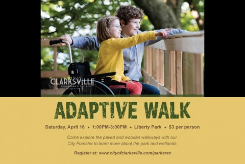 Adaptive Walk at Liberty Park