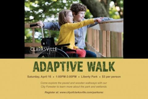 Adaptive Walk at Liberty Park