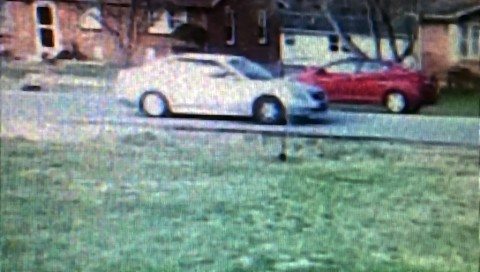 Still image of the suspicious vehicle on Glendale Drive.