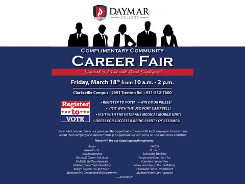 Daymar Clarksville Career Fair 2016