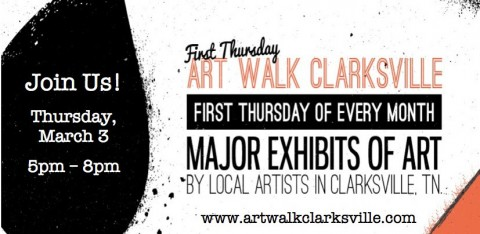 First Thursday Art Walk March 2016