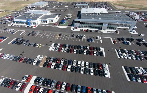 At the new facilities at 2655 Trenton Road, there is on-site parking for a whopping 1,150 vehicles.