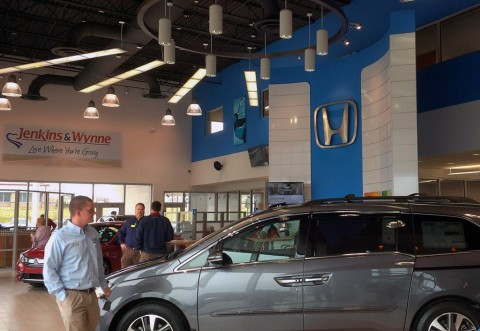 The Honda showroom, as well as the Ford-Lincoln showroom, includes various customer amenities such as an Internet Bar, Refreshment Area and Kids Zone. There will also be an opportunity to learn some Ford history through an exhibit of vintage Fords.