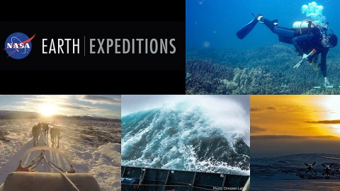 Eight major new NASA field research campaigns, from the Greenland ice sheet to Pacific coral reefs, get underway this year to provide scientists with a deeper view of how our home planet works that will complement what they've learned from space. (NASA)