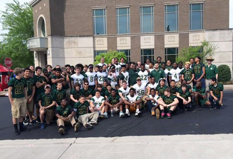 Northwest High School Vikings Football team.