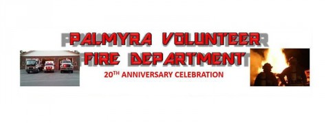Palmyra Volunteer Fire Department 20th Anniversary