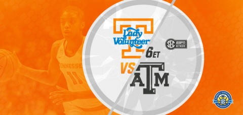 Tennessee Women's Basketball plays Texas A&M at 6:00pm ET/5:00pm CT, Friday in the SEC Tournament. (UT Athletics Department)