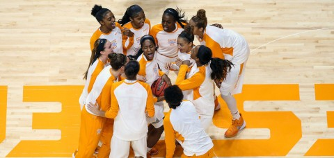 Tennessee Women's Basketball opens up NCAA Tournament play against Green Bay in Tempe, AZ on Friday, March 18th. (Andrew Bruckse/Tennessee Athletics)