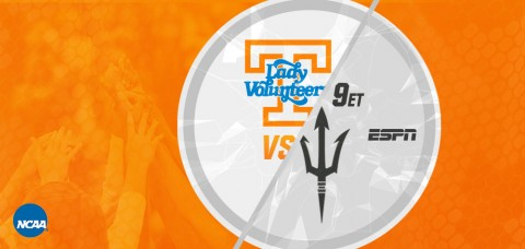 Tennessee Women's Basketball takes on No. 2 seed Arizona State in the second round of the NCAA Tournament Sunday. (UT Athletics Department)