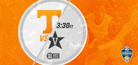 The in-state, SEC rivals Tennessee and Vanderbilt meet for the third time this season, square off on a neutral floor at SEC Tournament. (UT Athletics Department)