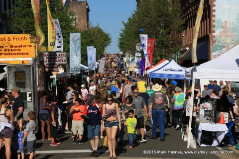 2016 Rivers and Spires Festival was the biggest one yet.