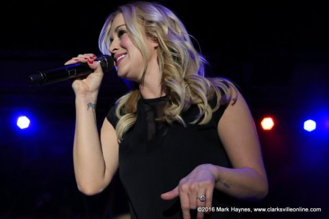 Country music artist Kellie Pickler closed out the 2016 Rivers and Spires Festival.