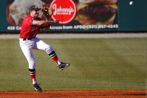 Austin Peay Baseball loses OVC road game Saturday to Tennessee Tech. (APSU Sports Information)
