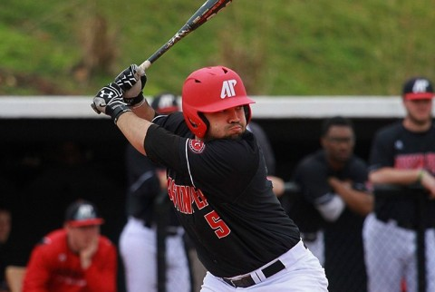 Austin Peay Baseball's Alex Robles went 2 for 5 against Tennessee Tech Sunday. (APSU Sports Information)