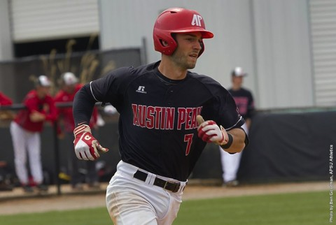 Austin Peay Baseball has 11 hits in 7-3 loss to Southeast Missouri at Raymond C. Hand Park, Sunday. (APSU Sports Information)